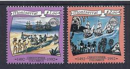 500 AÑOS DESCUBRIMIENTO DE AMERICA - MONSERRAT 1992 - Yvert #806/07 - MNH ** - Christopher Columbus