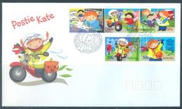 AUSTRALIA  - FDC - 1.6.2006 - POSTIE KATE - Yv 2551-2555 - Lot 18590 - Premiers Jours (FDC)