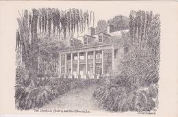 USA - LOUISIANE - Louisiana New Iberia Shadows On-The-Teche 1830s - Etats-Unis