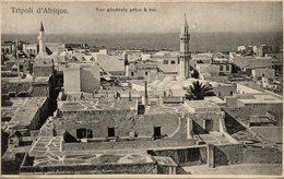 TRIPOLI D AFRIQUE VUE GENERALE PRISE A VOL - Libye