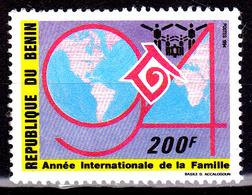 Benin 1984 Non Répertorié Y&T Année Internationale De La Famille - Bénin – Dahomey (1960-...)