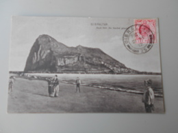 GIBRALTAR ROCK FROM THE NEUTRAL GROUND - Gibraltar