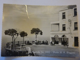 "Cartolina Viaggiata ""AGEROLA - Punta S. Lazzaro"" 1955 - Italia"