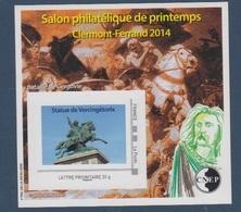 CNEP-2014-N°65** VERCINGETORIX.CLERMONT-FERRAND Salon De Printemps De 2014 - CNEP