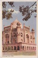 ASIE - INDE - TEMPLE SAFDARJANG TOMB DELHI - Inde