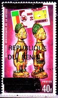 Benin ( Michel ) 565 Timbre Du Dahomey Surchargé / Loterie Nationale - Benin - Dahomey (1960-...)