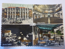 "Cartolina Viaggiata ""SALUTI DA NOLA"" Vedutine Anni '50 - Italia"