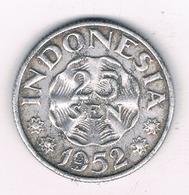 25 SEN 1952  INDONESIE /8588/ - Indonésie