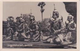 ASIE - CAMBODGE  - CARTE PHOTO -  DANSES ANGKORWAT - Cambodge