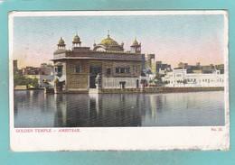 Old Post Card Of Golden Temple,Amritsar, Punjab, India,J33. - India