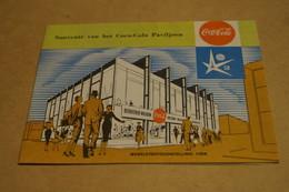 Expo 58,Exposition Bruxelles 1958,Expo + Coca Cola,27 Cm. Sur 21 Cm.superbe état De Collection - Obj. 'Souvenir De'