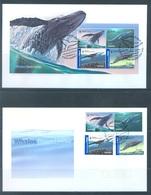 AUSTRALIA  - FDC - 6.6.2006 - WHALES - Yv 2561-2566 BLOC 101 - Lot 18591 - Premiers Jours (FDC)