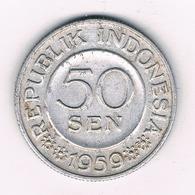 50 SEN 1959  INDONESIE /8589/ - Indonésie