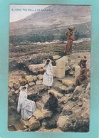 Old Post Card Of The Wells Of Samaria,Israel.,J33. - Israel