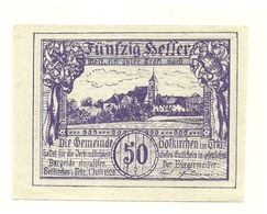 1920 - Austria - Hofkirchen Notgeld N77 - Autriche