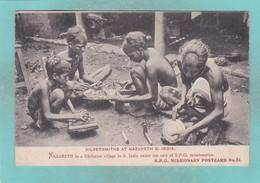 Old Post Card Of Silversmiths At Nazareth, Tamil Nadu. India,J33. - India