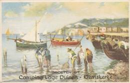 Klemskerke ,Groeten Uit Camping Lage Duinen (De Haan) - De Haan