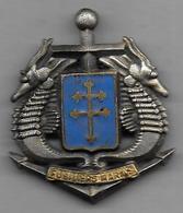 Régiment De  Fusiliers Marins - Insigne émaillé FIA - Marine
