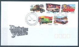AUSTRALIA  - FDC - 15.8.2006 - DRIVING THROUGH THE YEARS - Yv 2573-2577 - Lot 18593 - Premiers Jours (FDC)