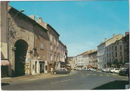 Langogne: CITROËN DS, RENAULT 16, 4, PEUGEOT 304 - 'BP' STATION-SERVICE - Boulevard Général De Gaulle - Toerisme