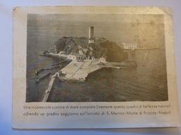 """Cartolina  Pubblicitaria """"Il Fine Ritrovo Delle Ore Liete DANCING BAR RISTORANTE S. Martino, Monte Di Procida"""" Anni '50 - Italia"""