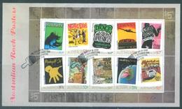 AUSTRALIA  - FDC - 12.9.2006 - AUSTRALIAN ROCK POSTERS - Yv 2583-2592 - Lot 18594 - Premiers Jours (FDC)