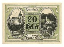 1920 - Austria - Attnang-Puchheim Notgeld N78 - Austria