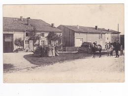 Carte à Situer Gendarmerie Nationale Attelage Chevaux Personnages Bois Envoyée à Orléans En 1914 Par A. LEROY VOIR DOS - Cartes Postales
