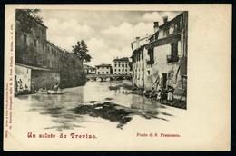 Un Saluto Da Treviso - Ponte S. Francesco - Non Viaggiata - Rif. 02081 - Treviso