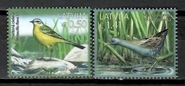 Latvia 2017 Letonia / Birds MNH Vögel Aves Oiseaux  / Cu10429  40 - Vogels