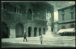Un Saluto Da Treviso - Piazza Indipendenza - Viaggiata 1909 - Rif. 02060 - Treviso