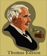 @@@ MAGNET - Thomas Edison - Publicitaires