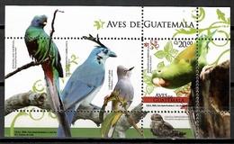 Guatemala 2008 / Birds MNH Vögel Aves Oiseaux  / Cu10431  40 - Birds