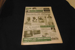 LA VIE DU COLLECTIONNEUR N°144 -  20 SEPTEMBRE 1996 BANANIA TSF RADIO PEUGEOT CP PAPES.. . ACHAT IMMEDIAT - Brocantes & Collections