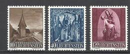 Liechtenstein. 1957. Tema Religión, Arte - Cristianismo