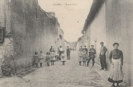 CPA 51 CAUREL RUE GAILLAIT  BELLE ANIMATION - Francia