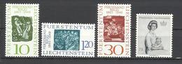 Liechtenstein. 1965. Tema Religión, Personajes. - Cristianismo