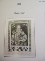 1980 AUSTRIA EUROPEAN IDEAS BENEDICTUS    MNH ** (IS15-000) - Idées Européennes
