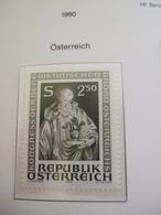 1980 AUSTRIA EUROPEAN IDEAS BENEDICTUS    MNH ** (IS15-000) - European Ideas