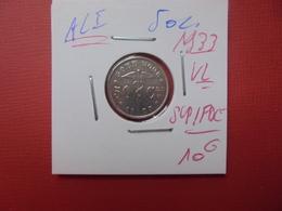 Albert 1er. 50 Centimes 1933 VL - 1909-1934: Albert I