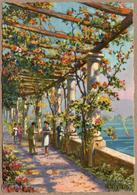 74 / TALLOIRES - La Pergola Fleurie Et Le Lac D'Annecy (illustration) - Talloires