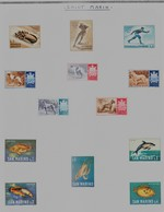 SAINT MARIN - Collection Feuille Album - Neuf Et Oblitéré - Très Propre (1 Scan) - TOP AFFAIRE. A SAISIR !! - Collections, Lots & Séries