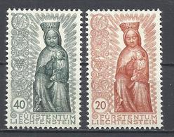 Liechtenstein. 1954. Tema Religión, Santísima Virgen. - Cristianismo