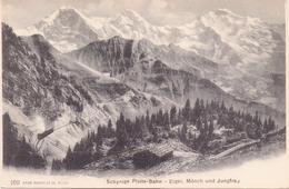 Seltene ALTE  AK  SCHYNIGE  PLATTE / K. Bern  - Bahn - Ca. 1905 - BE Berne