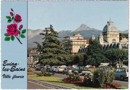 Evian-les-Bains: SIMCA 1500 BREAK, CITROËN 2CV, FORD TAUNUS P5, 12M P4,RENAULT 8, PEUGEOT 204, 404, TUBE HY - Toerisme