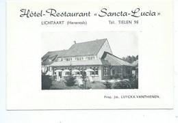 Lichtaart Sancta Lucia ( Document En 4 Volets Au Format CPA ) - Kasterlee