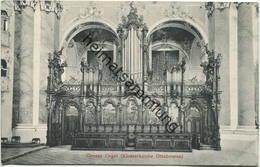 Ottobeuren - Klosterkirche - Grosse Orgel - Verlag Gebr. Metz Tübingen - Kirchen U. Kathedralen