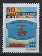 Ecuador (2001) Yv. 1538  /  Marine - Equateur