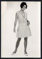 C0426 - Mode DDR - Bretschneider Mühlau Bei Burgstädt Werbekarte Werbung - Pretty Young Women Im Kleid - Moda