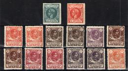 Guinea Española Nº 10,32.62/64.66/68 Y 70. Años 1903/1909 - Guinée Espagnole